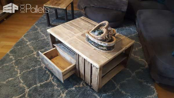 Pallet Crate Coffee Table DIY Pallet Video Tutorials Pallet Coffee Tables