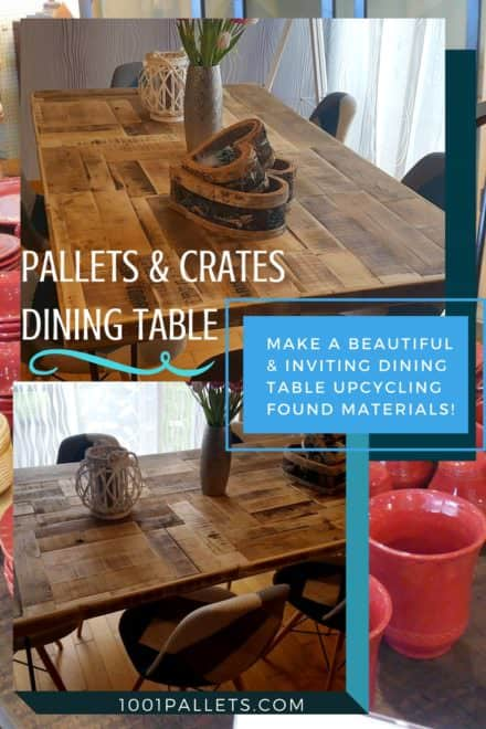 Diy Video Tutorial: Pallet/Crate Dining Table