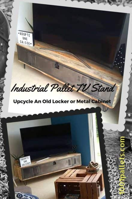 Diy Video Tutorial: Pallet Locker TV Stand