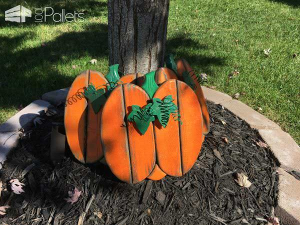 Get years of pleasurable use out of these Perfect Pallet Pumpkins for your holiday decor.