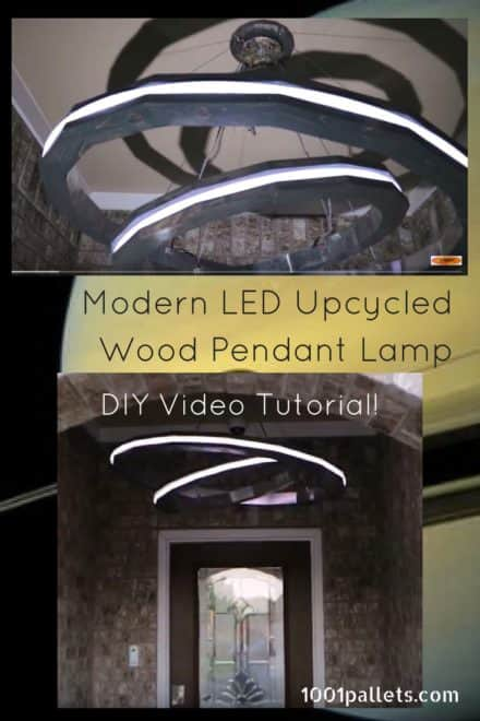 Diy Video Tutorial: Saturn Rings LED Pendant Light
