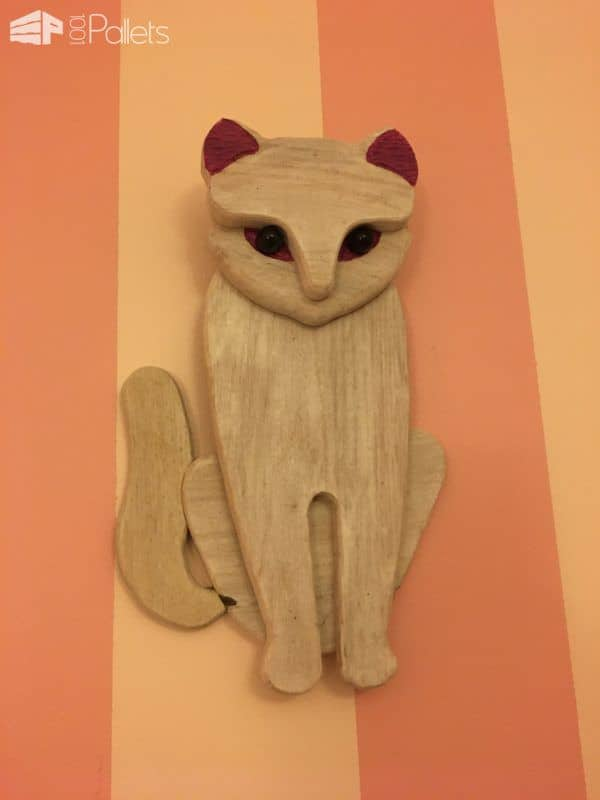 Sitting Pretty Pallet Kitty DIY Pallet Video Tutorials Fun Pallet Crafts for Kids
