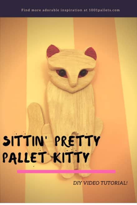 Diy Video Tutorial: Sitting Pretty Pallet Kitty