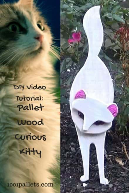 Diy Video Tutorial: Tip Toe Pallet Wood Cat