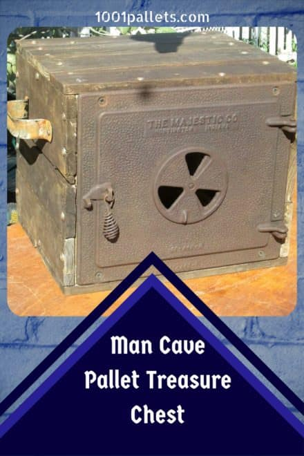 Majestic Man Cave Pallet Treasure Chest