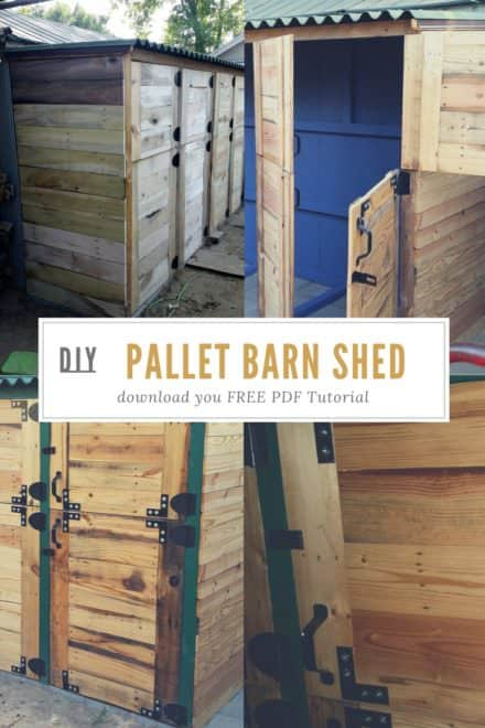 Pallet Barn Shed