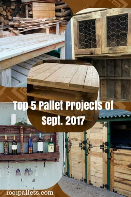 Top 5 September 2017 Pallet Ideas You Chose!