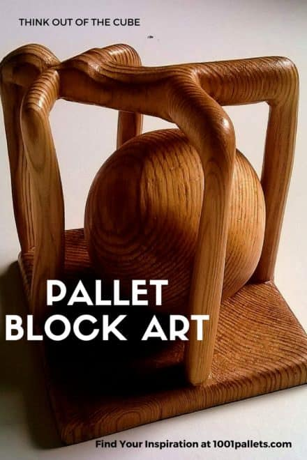 Unbelievable Pallet Block Art Pieces!