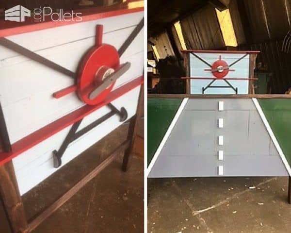 Airplane-themed Pallet Kids Bed Transformation DIY Pallet Bed Headboard & Frame