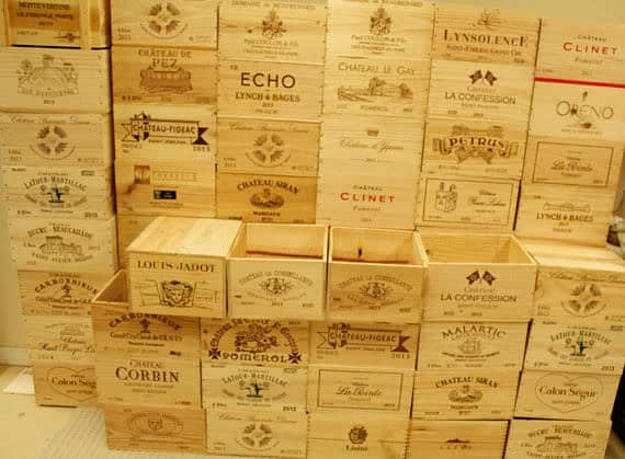 I want wine crates where to find free or cheap wood What to do with wine crates
