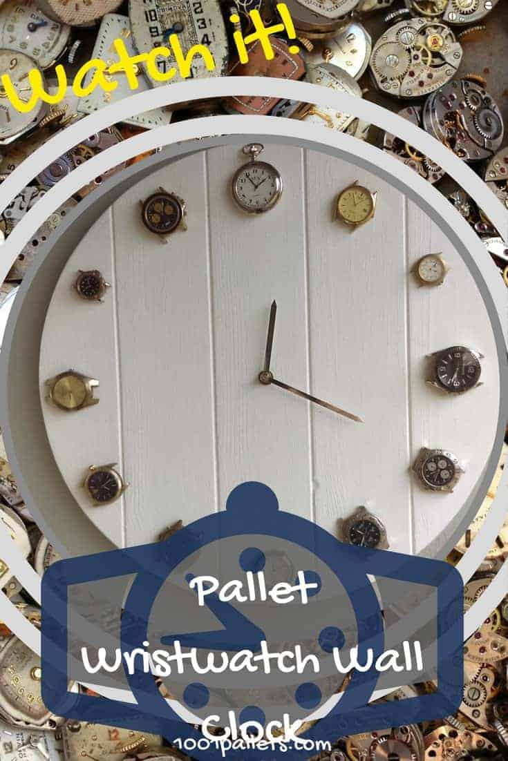Pallet Wrist Watch Clock Upcycles Pocketwatches Too