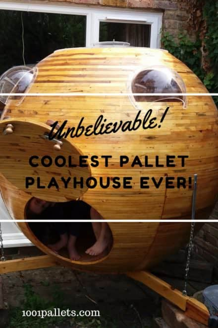 Ultimate Planetary Pallet Kid's Playhouse!