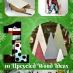10 Last-minute Upcycled Wooden Christmas Ideas For You!