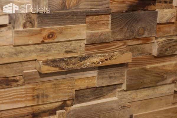Install This Diy Pallet Wall for Less than 50 Dollars! DIY Pallet Video Tutorials Pallet Walls & Pallet Doors