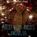 Pallet Wood Angel Ornament Adds Simple Charm!