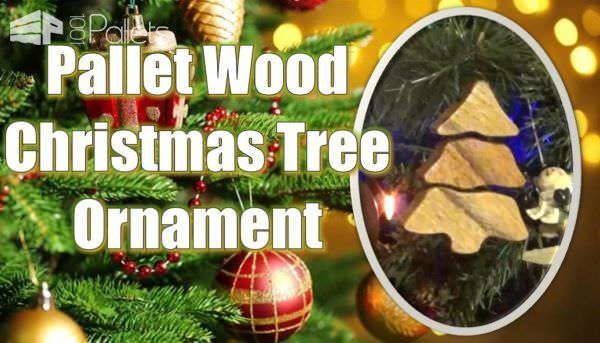 Pallet Wood Sectional Christmas Tree Ornament DIY Pallet Video Tutorials Pallet Home Décor Ideas