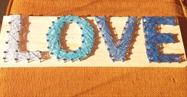 Pallet Woven Deco Frame: Fun Project With Kids!