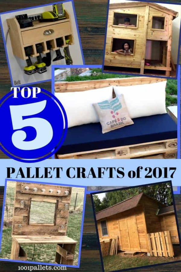 See Ya 2017: Top 5 Pallet Crafts You Liked The Most!