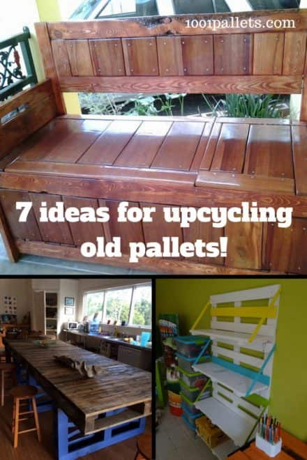Top 7 Ways You Can Recycle Old Pallets