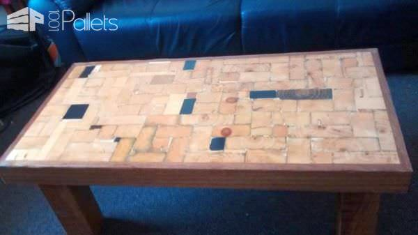 Use a router to smooth over the edge trim on this End-grain Coffee Table.