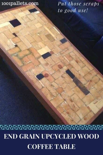 Upcycled Timber End-grain Coffee Table