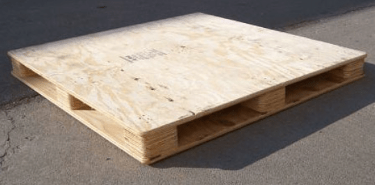 Plywood pallets are automatically Heat Treated Pallets so they're okay to use.