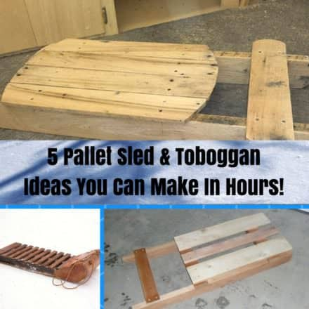 6 Terrific Pallet Sleds You Can Make Quickly!
