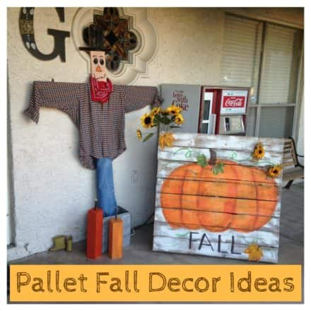 Assorted Pallet Fall Decor Ideas Add Rustic Charm