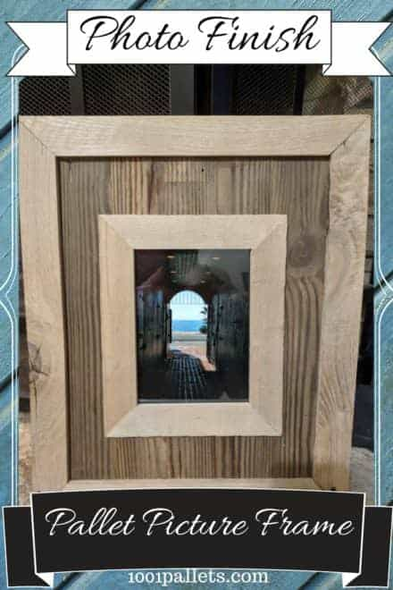Highlight Your Photos: Pallet Wood Picture Frame