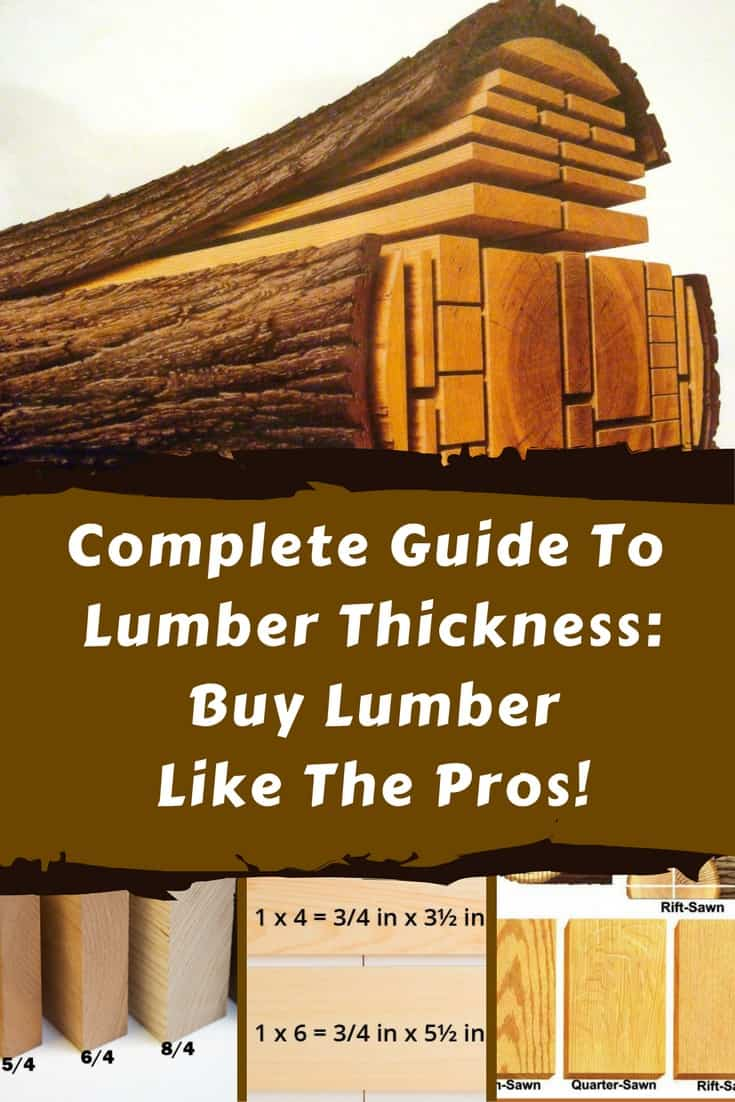 Sometimes you have to buy lumber to finish your pallet project. Use this complete guide to lumber thickness to understand terms & buy lumber like the pros do! Learn the fractional terms and nominal measurements, directions of the cuts & more!