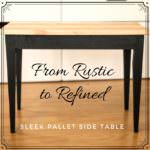 Make This Chic Pallet Side Table: DIY Video