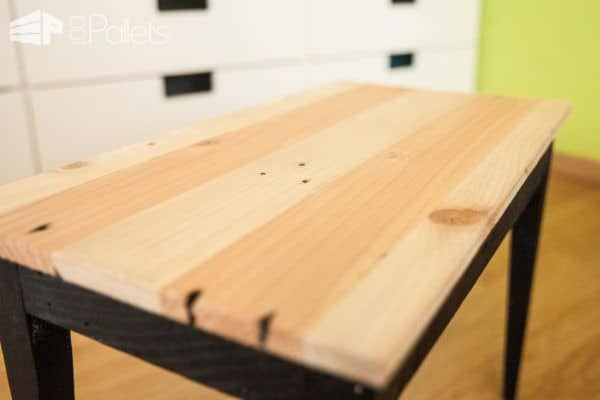 Make This Chic Pallet Side Table: Diy Video DIY Pallet Video Tutorials Pallet Desks & Pallet Tables