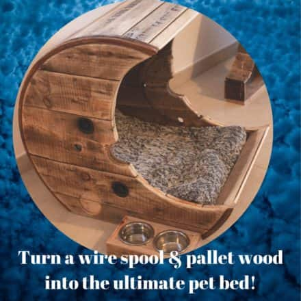 Make This Pallet Moon Pet Bed For Your Cat/Dog