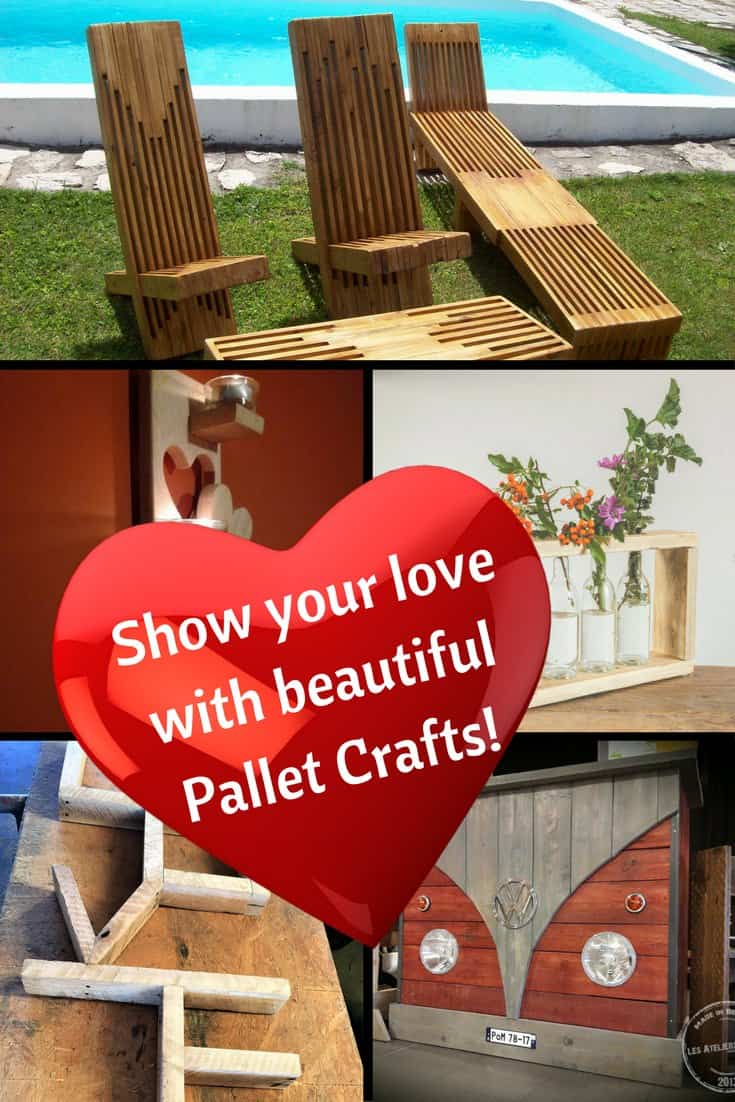 Skip the expensive baubles and give a gift from the heart: build your loved one a pallet project! Artwork, furniture, bars, and sheds, plus thousands of ideas!