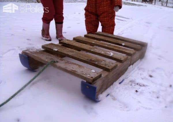 Use Pallet Sleds for work or play.