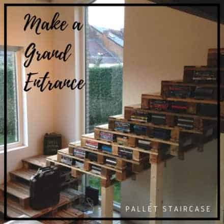 Upcycle Old Wood Into Astounding Pallet Stairways