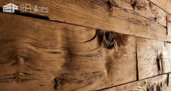When you use Reclaimed Wood, you will be dealing with inconsistencies.