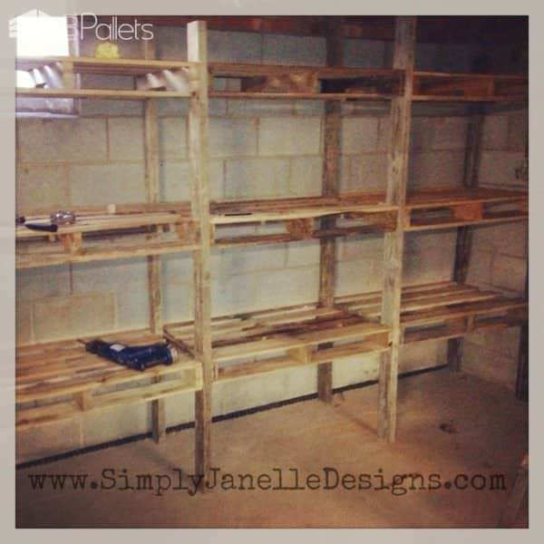 3 Ways to Use Wood Pallets to Improve Your Garage Pallet Shelves & Pallet Coat Hangers Pallet Walls & Pallet Doors