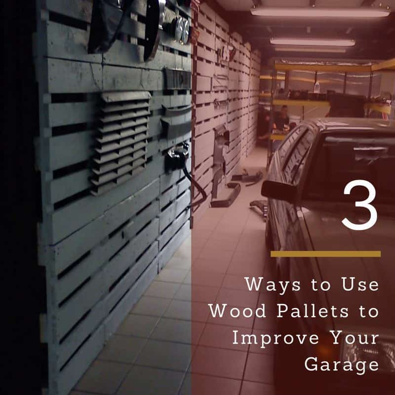 Living Room Lighting 20 Powerful Ideas To Improve Your: 3 Ways To Use Wood Pallets To Improve Your Garage • 1001