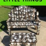 Enjoy the Little Things Pallet Bench Set Pallet Benches, Pallet Chairs & Stools