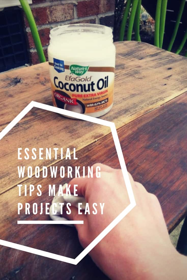 Essential Woodworking Tips for any woodworking project! Refresh on tool safety, personal protective wear, and where to find inspiration for your next project! #palletsafety #woodworkingtips #diyideas #havefun #1001pallets #safety