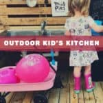 Outdoor Pallet Kid's Mud Kitchen With Working Sink & Deck! Fun Pallet Crafts for Kids Pallet Sheds, Cabins, Huts & Playhouses