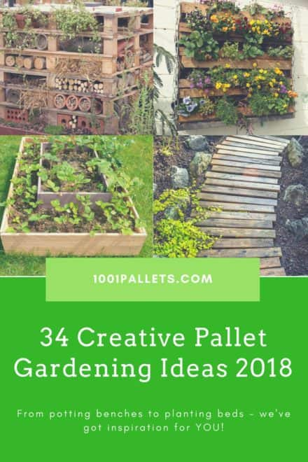 Top 34 Creative Pallet Garden Ideas For Springtime!