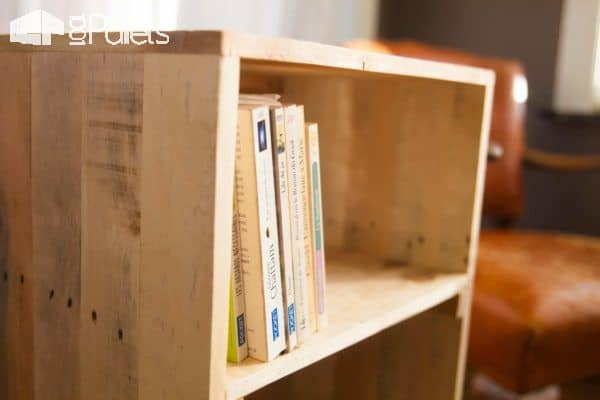 Create Mini Libraries: Little Pallet Bookcase Town Project Pallet Bookcases & Bookshelves