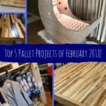 Fabulous February 2018 Top 5 Pallet Ideas