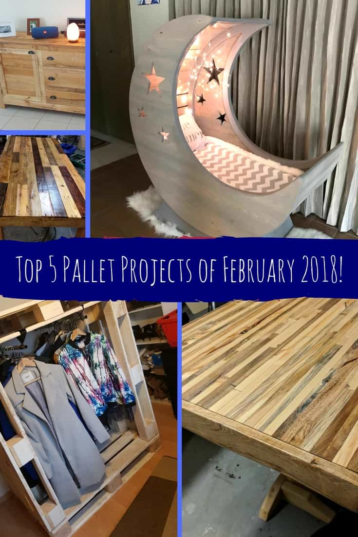 Fabulous February 2018 Top 5 Pallet Ideas 1001 Pallets