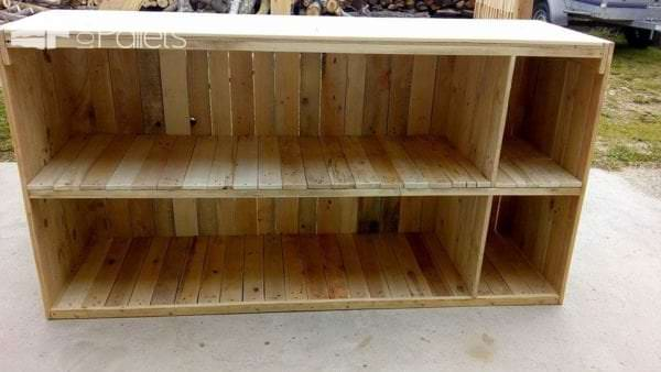 Decorative Pallet Bar or Counter Pallet Bars Pallet Cabinets & Wardrobes