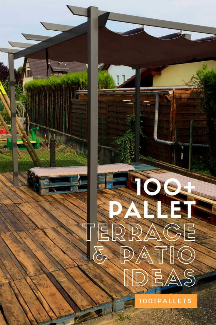Pallet Decks Pallet Terraces Amp Patios 1001 Pallets