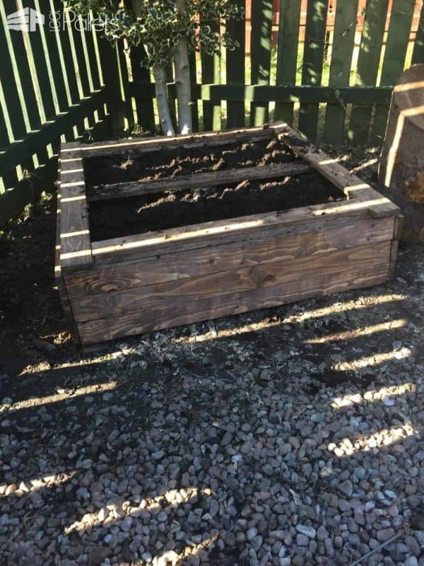 Diy: Garden Pallet Raised Bed Pallet Planters & Compost Bins
