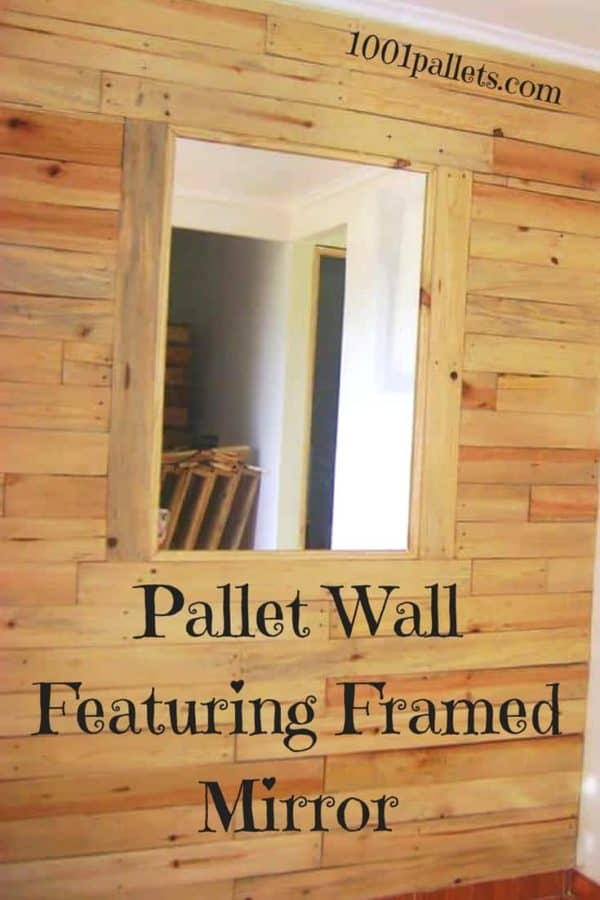 Add Pizzazz Like This Small House Pallets Wall